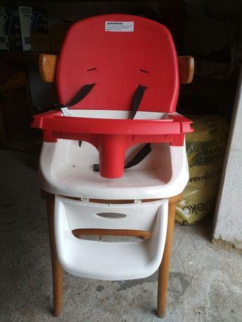 Krzesełko do karmienia dla dzieci niekompletne