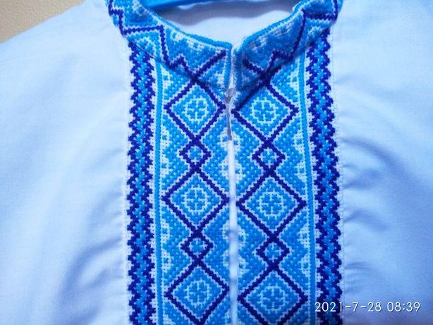 Вышиванка рубашка,вишита сорочка,украинская,ручная вышивка