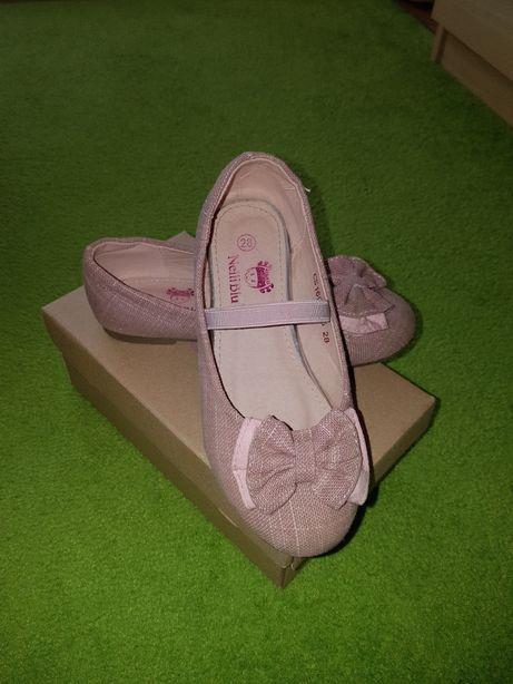 Balerinki, baleriny,buty dla dziewczynki roz.28