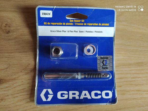 Zestaw Naprawczy  Pistolet Graco Silver Plus Flex Plus Nowy Oryginalny