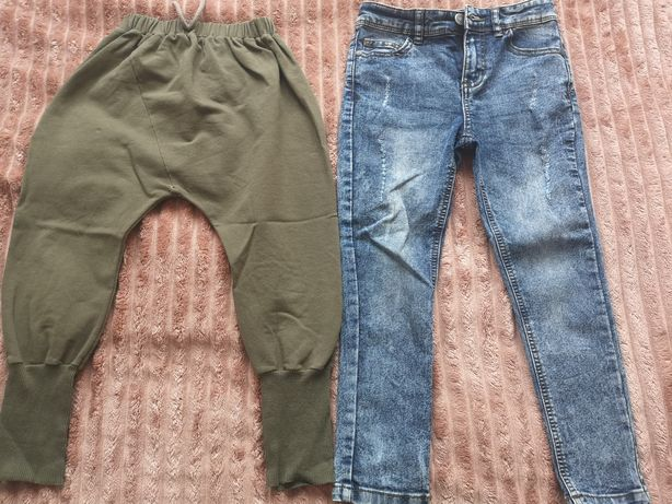 Spodnie  jak nowe 104/110