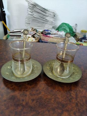 Copos de chá Turcos (2)