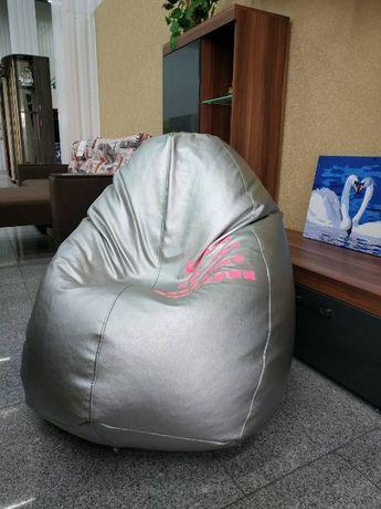 Кресло мешок. Кресло овал. Бескаркасная мебель от производителя