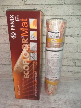 Нагревательные маты Fenix  от 0,5м² до 16.3м² Теплый пол электрический