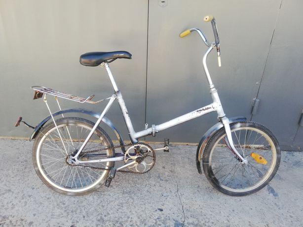 Велосипед аист с багажником