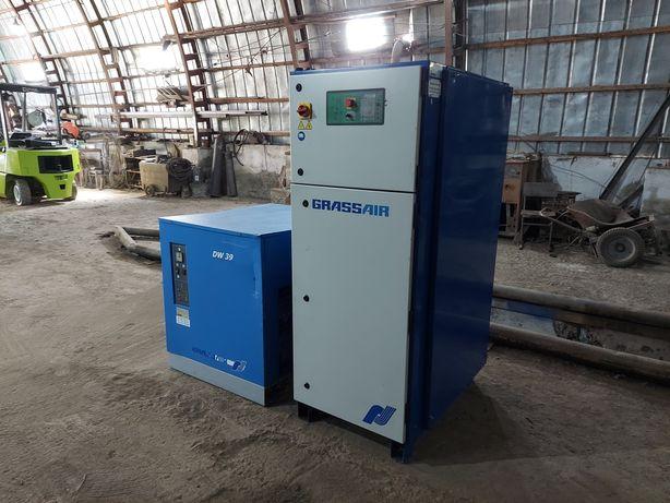 Гвинтовий компресор  GRASS AIR   30 KW
