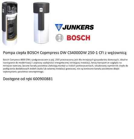 Bosch Compress 4000 DW CS4000DW 250-1 FCI Pompa ciepła