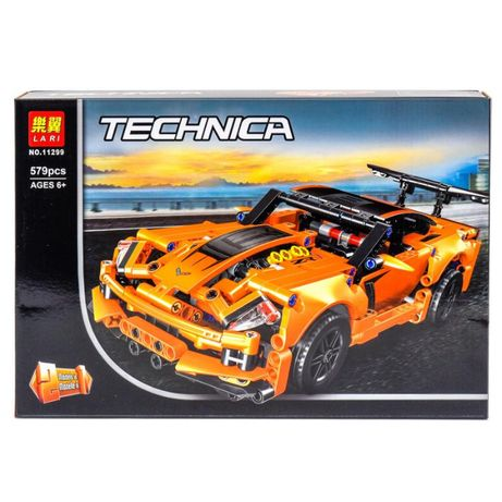 "Конструктор Bela 11299 ""Chevrolet Corvette ZR1"", 579 эл, лего, машина"