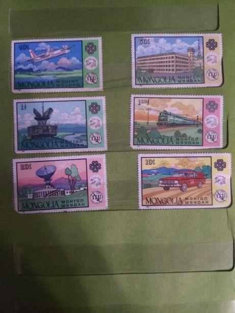 Продам почтовые марки - монгол шуудан