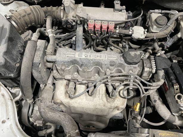 Двигатель шевролет авео 1.5