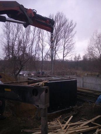 Zbiornik betonowy na wodę opadową,deszczówkę, przeciwpożarowy,ppoż