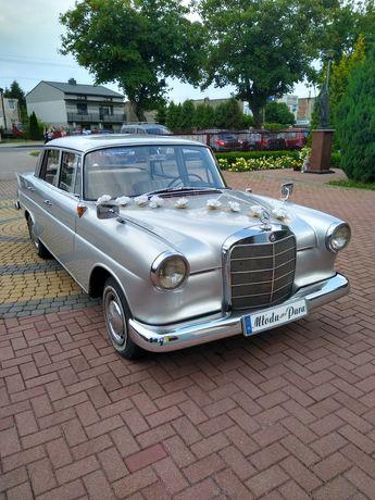 Mercedes Skrzydlak, do ślubu, auto na ślub, samochód wesele