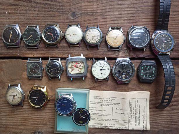часы СССР одним лотом