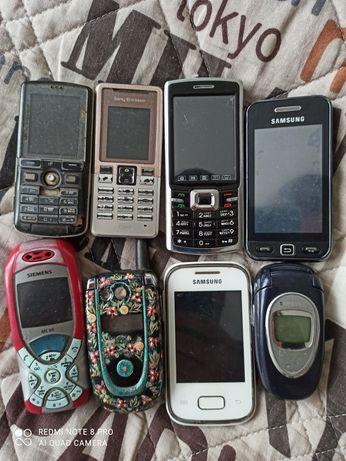 Продам історію 8 телефонів