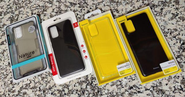 Samsung galaxy S20 + (Capa Premium Novas)