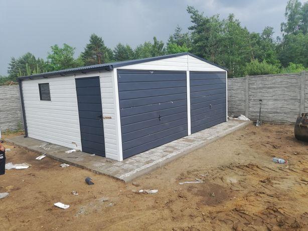 6x6 garaz blaszany biały garaze blaszane WAKACYJNA PROMOCJA