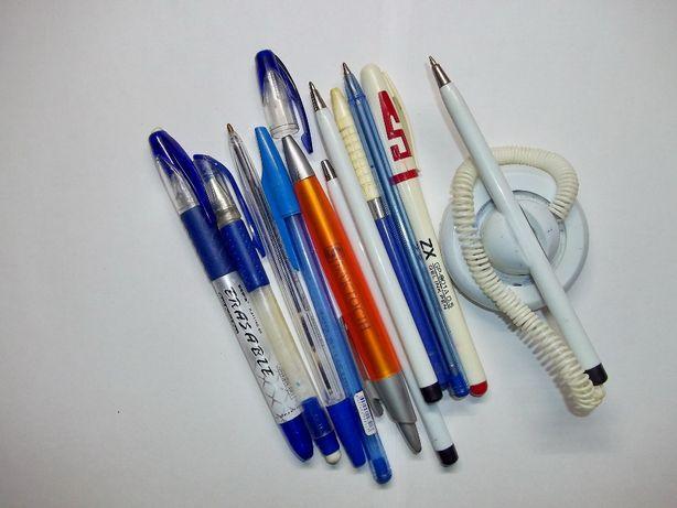 Ручки шариковые разные