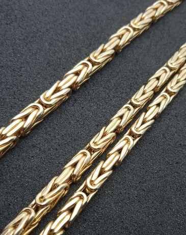 Złota bransoletka Królewska P585 9,41g 21,5cm LOMBARD66