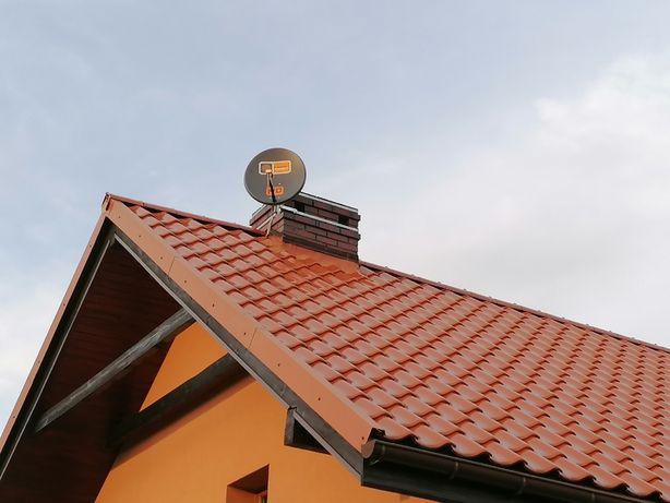 Montaż anten ustawienie NC + CYFROWY POLSAT ORANGE Dvb-T