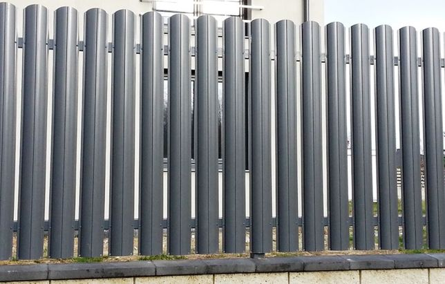 SZTACHETY METALOWE na ogrodzenie Różne kolory RAL - obustronne