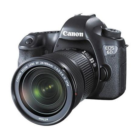 DSLR Canon 6D + 24-105mm + 50mm + mala de transporte