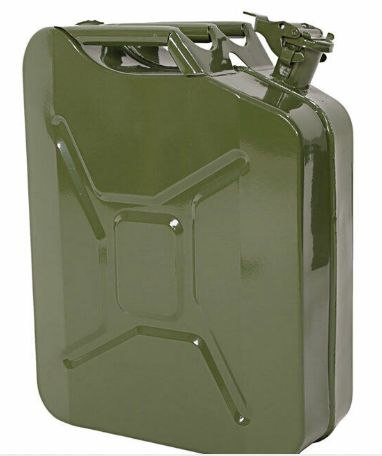 Jerry can / Jerrycan / Jerrican 20L Metal Verde Tropa NOVO