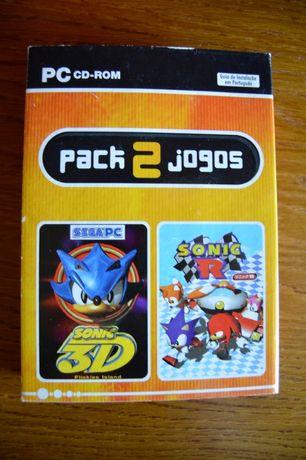 Jogos Sonic 3D Flickies Island e Sonic R para PC