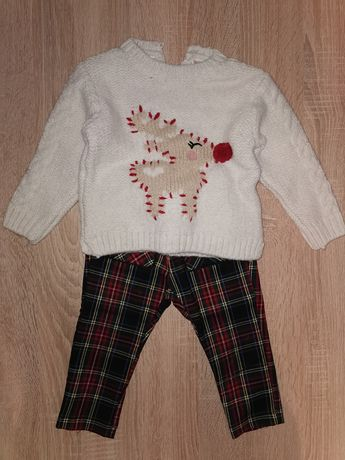 Spodnie i sweterek Zara 86