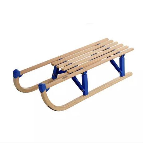 Sanki drewniane skladane