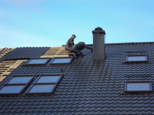 Кровельные работы, монтаж крыши, ремонт крыши