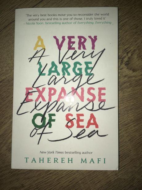 "Tahereh Mafi ""A very large expanse of sea"" ksiazka po angielsku"