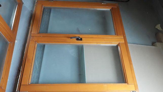 Okno drewniane 2szyby