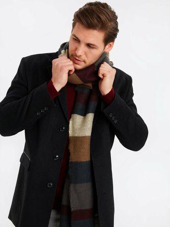 Пальто бушлат полупальто мужское новое шерстяное