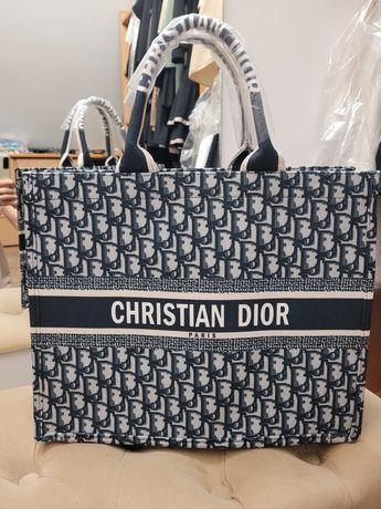 Torba Dior odcienie szarości do miasta I na plażę