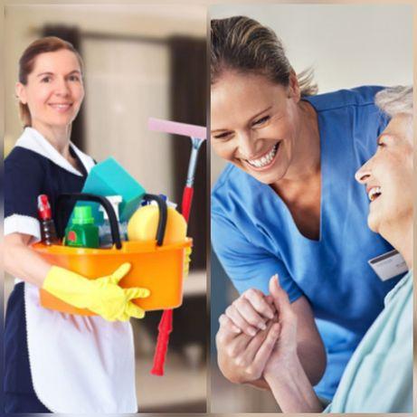 Funcionária para lar de idosos