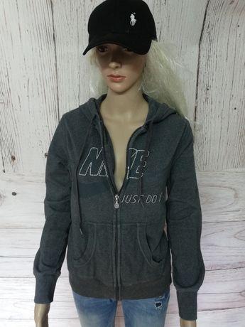 Bluza damska rozpinana z kapturem czarna Nike Just Do It sportowa r. M