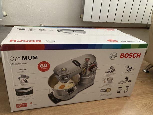 Robot kuchenny planetarny Bosch OptiMUM z wbudowaną wagą MUM9BX5S61
