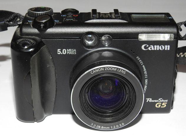 Canon PowerShot G5 5.0 Mega Pixels
