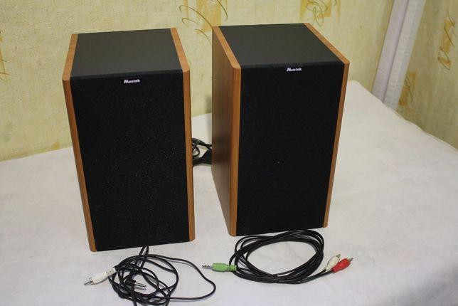 Колонки 24 Вт (2х12 Вт) Mustek SM-220 Активные