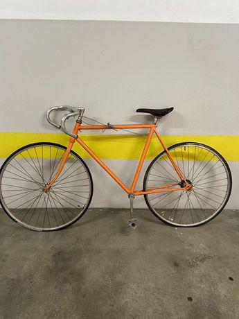 Quadro bicicleta estrada corrida Etiel antiga