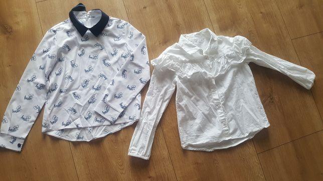 Koszule 2szt. Dziewczęce 128