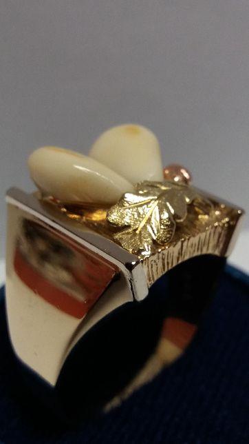 Sygnet z Grandlami Jedyny złoto