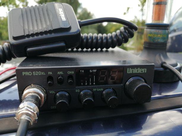 CB Radio Uniden PRO 520 Xl + Antena President