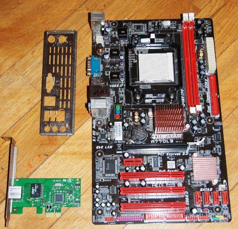 Материнская плата BIOSTAR A770L3 soket AM3