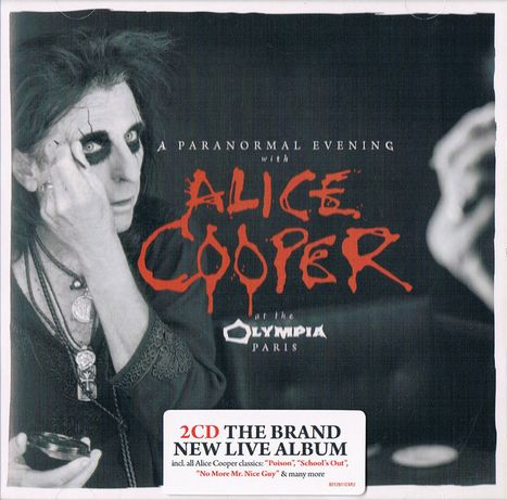 ALICE COOPER - A Paranormal Evening at the Olympia Paris-2 CD -nowa