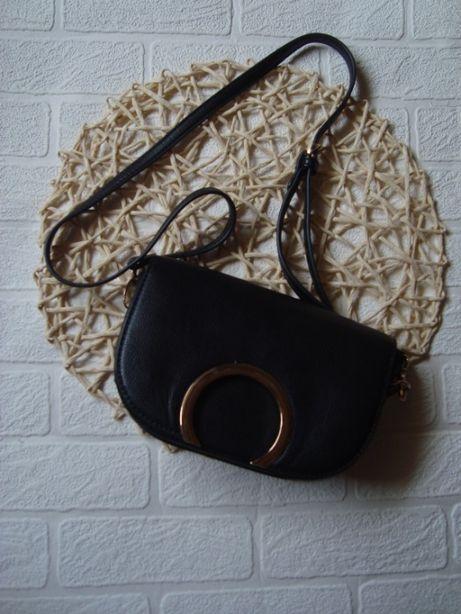 Torebka torba listonoszka MOHITO czarna tanio wysyłka