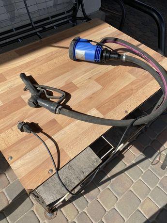 Pompa elektryczna HORN z automatycznym zaworem kurkowym do olej