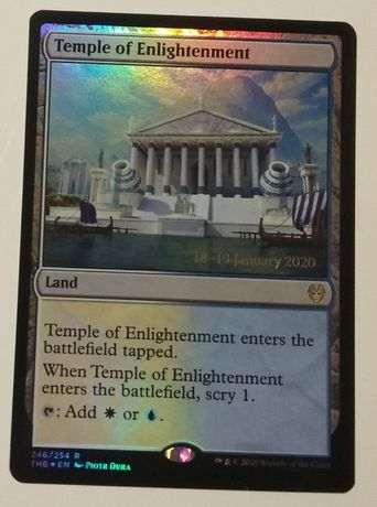 Temple of Enlightenment MTG Promo