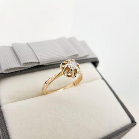 Złoty pierścionek próba 583 rozmiar 15