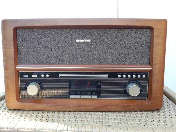 Auna Belle Epoque DAB Wieża stereo retro CD Bluetooth CD USB MP3 FM